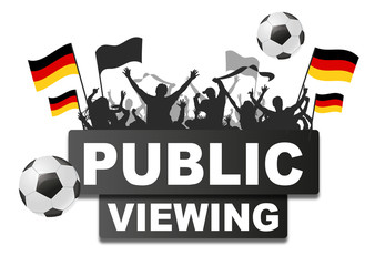 Public Viewing Germany 2018