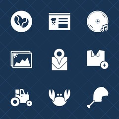 Premium set with fill icons. Such as map, frame, sound, fashion, bean, blank, white, note, old, button, agriculture, agricultural, fresh, coffee, interface, paper, place, crab, field, picture, audio