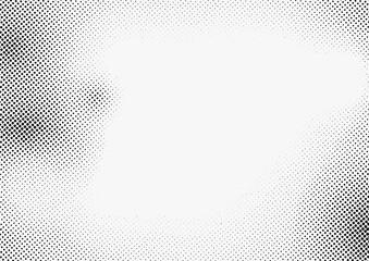 Abstract monochrome halftone modern black white pattern