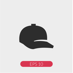 Ball cap vector icon