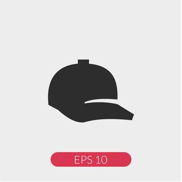 Ball cap vector icon