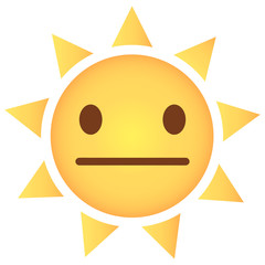 Sonne Emoji neutral