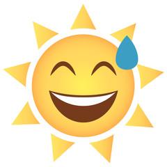 Sonne Emoji verlegen