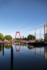 Old harbor in Rotterdam