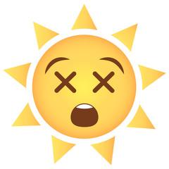 Sonne Emoji tot