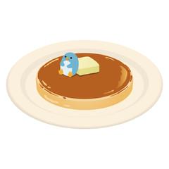 パンケーキとペンギン
