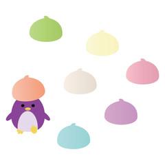 メレンゲとペンギン