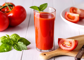 Image with tomato juice.
