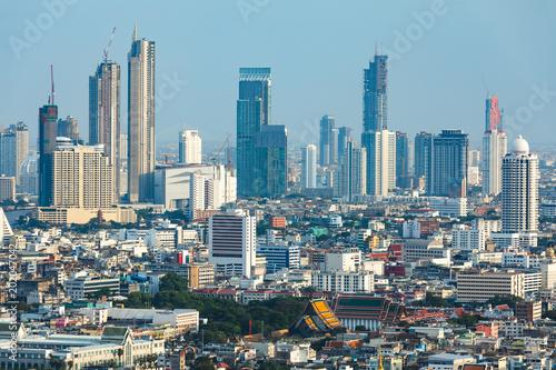 Wall mural Bangkok skyline - Thaïlande