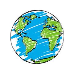 earth cartoon vector
