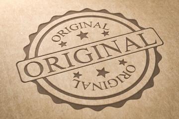 Karton Stempel Orginal