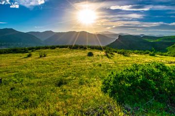 Beautiful Sunset in Golden, Colorado