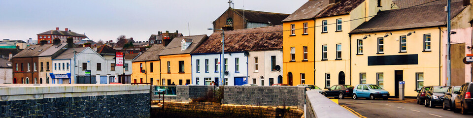 Cityscape during the day in Waterford, Ireland. It is the oldest city in the country