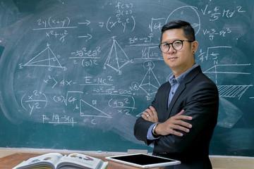 Instructors are teaching mathematics.