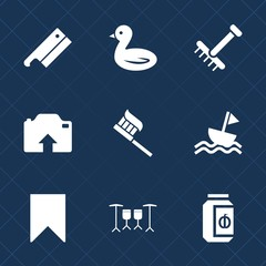 Premium set with fill icons. Such as sky, season, nautical, black, flight, sign, photo, clean, picture, garden, tool, gardening, yacht, drum, meat, glass, brush, jar, fall, jam, camera, outdoor, grass
