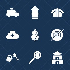 Premium set with fill icons. Such as pie, cooking, cake, bucket, fun, dessert, photo, add, sweet, toy, fire, cute, kitchen, play, department, kid, protection, hydrant, equipment, street, asia, pagoda