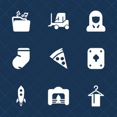 Premium set with fill icons. Such as delivery, clothing, document, file, home, fire, web, transportation, beauty, play, service, young, business, transport, lunch, launch, cargo, face, hanger, socks