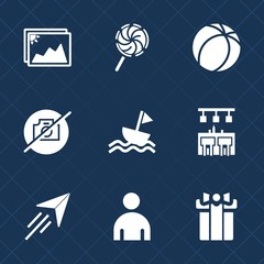 Premium set with fill icons. Such as frame, dessert, food, man, lollipop, photography, travel, football, soccer, stick, white, camera, boy, photo, bar, sport, game, holiday, sweet, yacht, image, candy