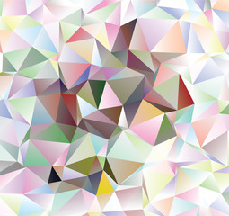 Creative abstract  polygon illustration. Colorful background with triangles. Vector polygon pattern. Abstract illustration with an elegant design. The best triangular design for your business .