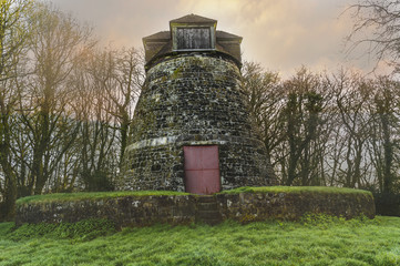 Tower Mill  - East Knoyle in Wiltshire - early morning