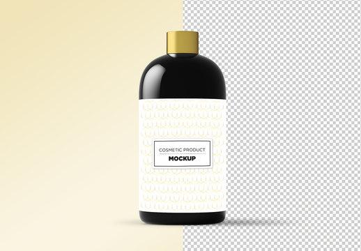 Cosmetic Bottle Product Mockup