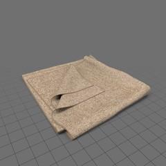 Folded blanket 3