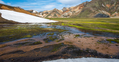 Landmannalaugar valley, south of Iceland
