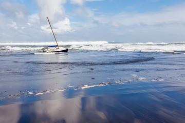 naufrage d'un voilier