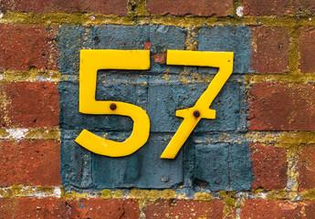 Hausnummer 57