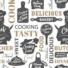 Seamless cooking pattern