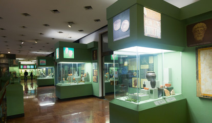 Exposition in Budapest History Museum
