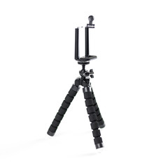 A tripod for your phone. Close up. Isolated on white background