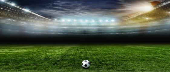 Wall Mural - Soccer bal.football ..