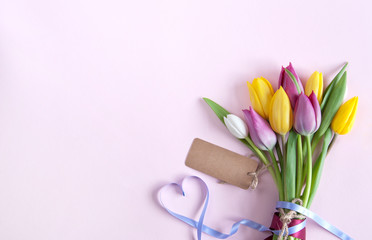 Spring gift flowers