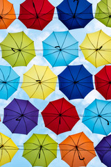 Colourful umbrellas In Odessa