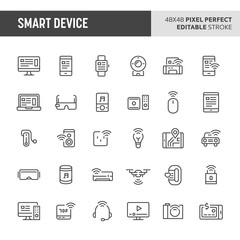 Smart Device Vector Icon Set