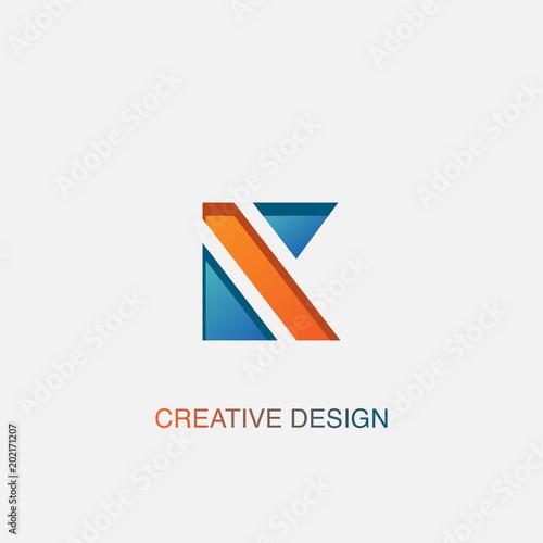 Creative letter k logo design vector template stock image and creative letter k logo design vector template spiritdancerdesigns Gallery