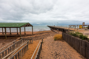 Ardrossan Jetty on Yorke Peninsula South Australia on February 24th 2018