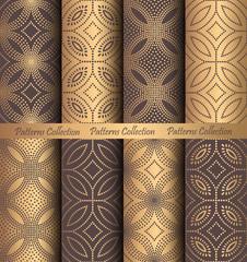 Golden Patterns Forged Vintage Design