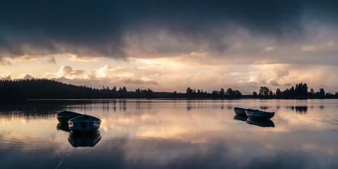 Sunrise on Scottish Loch