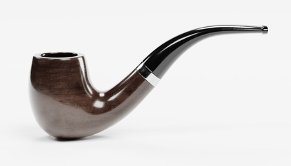 Realistic 3D Render of Smoking Pipe