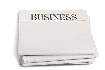 Newspaper Headlines on Business