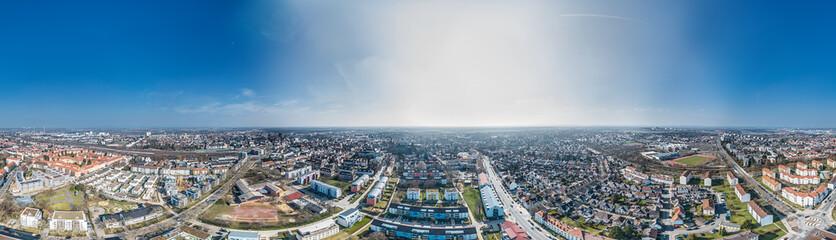 Luftbild Worms, Rheinlandpfalztag Stadt 2018