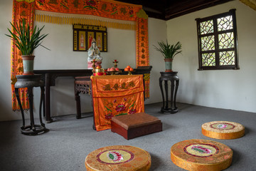 Hall for worshiping the Buddha