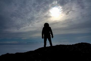 Hike in Antarctica