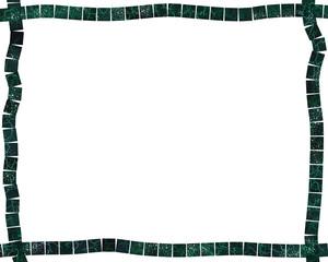 Green Marble Tile Frame