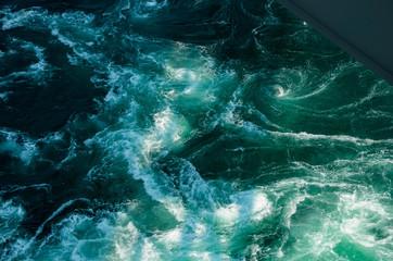 Fotobehang Natuur 日本 徳島県 鳴門の渦潮 鳴門海峡