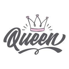I´m A Queen - Tee Design For Print