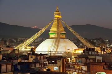 Boudha or Bodhnath stupa - Kathmandu - Nepal