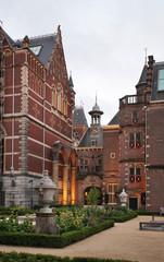 Rijksmuseum - Dutch national museum in Amsterdam. Netherlands
